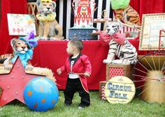 Circus Birthday Party Ideas | Photo 30 of 36 | Catch My Party