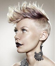 Стилно предложение за къса коса