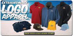 Shop 1000+ Logo Ready Items | Enjoy Free Shipping on Orders 199+ | Free Embroidery | Free Logo Setup http://www.logoup.com/ #customshirts