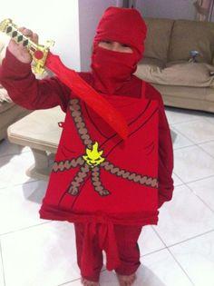 Kai Lego Ninjago Costume FINISHED!: