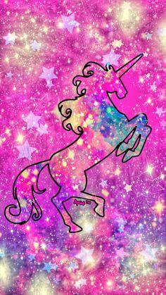 Iphone Wallpaper Unicorn, Unicorn Backgrounds, Unicornios Wallpaper, Cute Galaxy Wallpaper, Cute Backgrounds, Kawaii Wallpaper, Cute Wallpapers, Wallpaper Backgrounds, Iphone Backgrounds