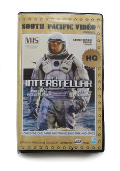 Interstellar. | This Guy Mocked Up Perfect VHS Cover Art For Modern TV Shows And Movies