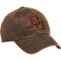 Top of the World Adults' Baylor University Scat Cap (Baylor University - Dark Brown, Size One Size) - NCAA Licensed Product, NCAA Men's Caps at Aca...