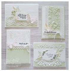 Karten Blue Rose Paper Treasures: Delicate Lace Edgelits - New Ideas Boating Apparel - Funny T-Shirt Ideas Scrapbook, Scrapbook Cards, Scrapbook Designs, Tarjetas Stampin Up, Dark Rose, Karten Diy, Embossed Cards, Stamping Up Cards, Sympathy Cards
