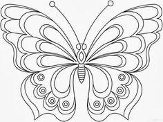 """Детски свят: Картинка за оцветяване """"Пеперуда"""" # 10"""