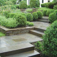Bluestone Entry Walkway -