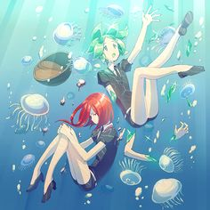Houseki no Kuni (1000x1000 1,339 kB.)