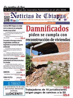 #HoyEnPortada Damnificados piden se cumple con reconstrucción de viviendas.