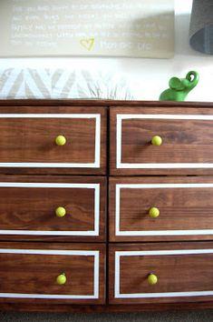 551 east : Ikea Dresser Hack: How to stain IKEA furniture