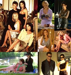 Sarah Michelle Gellar, Ryan Phillippe, Reese Witherspoon, and Selma Blair in CRUEL INTENTIONS ( 1999 )   movie scenes