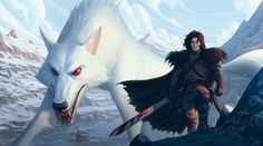 33 dibujos de Jon Snow y Ghost para usar como wallpaper – Game of Thrones – It's Spoiler Time! Game Of Thrones Wallpaper, Game Of Thrones Artwork, Game Of Thrones Poster, Jon Snow Lobo, Got White Walkers, Wolf Spirit Animal, King In The North, Kings Game, Dire Wolf