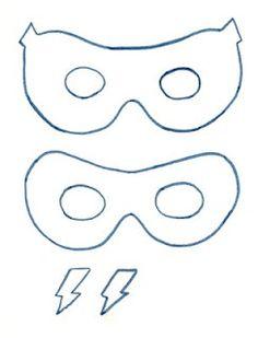 Superhero Masks To Decorate Mesmerizing Superhero02  Super Hero Masks Masking And Hero Decorating Design