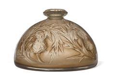 Lalique -- Vase[Chardons] | Centre de documentation des musées - Les Arts Décoratifs