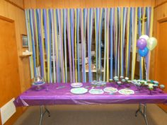 Peacock Party Decorations #peacock #party