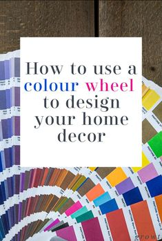 How to use a colour wheel to help plan your interior design and decor. A color wheel can be a fabulous asset to home makeover helping you decide on the best colour scheme for your home - here is how to use one  #colorwheel #colourwheel #complimentarycolors #colour Beautiful Space, Beautiful Homes, Pantone Orange, Best Color Schemes, Colour Wheel, Complimentary Colors, Design Your Home, Simple House, Being Used