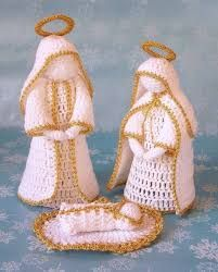 Image result for HÁČKOVANÉ ZVONKY Navidad A Crochet, Crochet Stars, Crochet Angels, Crochet Snowflakes, Crochet Flowers, Crochet Dolls, Thread Crochet, Crochet Crafts, Crochet Stitches