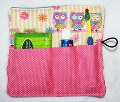 Travel Toothbrush Holder Sleepover Birthday Party by kariann96