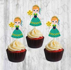 Ana Fever Single Toppers/Ana Toppers/Toppers/Fever Toppers/Girl Party by DianasDen on Etsy