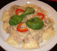 salsa parisien light Salsa Suave, Meat, Chicken, Food, Crochet, Salads, Gnocchi Recipes, Healthy Recipes, Eating Clean