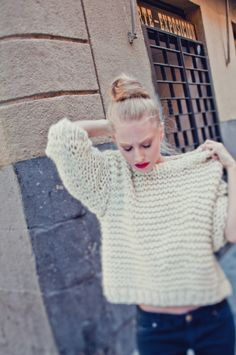 NOLITA SWEATER #kollabora #knitting #DIY