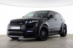 Used Land Rover Range Rover Evoque SD4 DYNAMIC 5 DOOR HAMANN EDITION Black for sale Essex YY15JHJ | Saxton 4x4