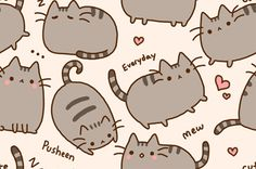Pusheen all day every day!