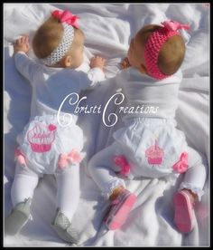 Custom Boutique Cupcake Bloomers Made To Match by ChristiCreations, $18.00