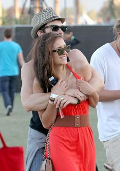 Ian Somerhalder Is DYING To Propose To Nina Dobrev(2012)<----- Miss them!