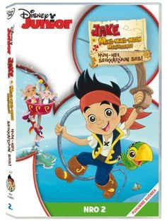 Jake ja Mikä-mikä-maan merirosvot 2: Huh-hei, seikkailuun siis! -DVD