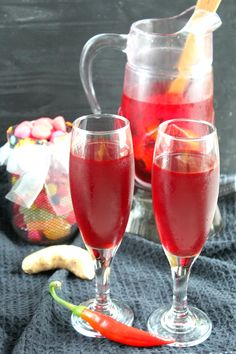 Dracula's spicy nonalcoholic punch