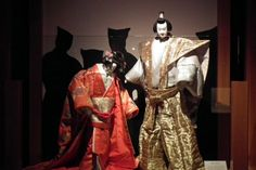 Bunraku Theater | Bunraku Puppets at Kaganawa Prefecture Museum of Cultural History ...