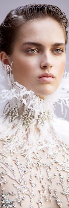 Ashi Studio SS18 Haute Couture Details Ashi Studio, Couture Details, Shades Of White, Bridal Boutique, Beautiful Gowns, Bellisima, Just In Case, Pink White, Fashion Art