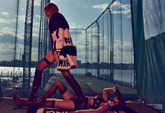 Gigi & Bella Hadid Preview 'Double Trouble' By Steven Klein For V Magazine Fall 2015 - 3 Sensual Fashion Editorials | Art Exhibits - Women's Fashion & Lifestyle News From Anne of Carversville