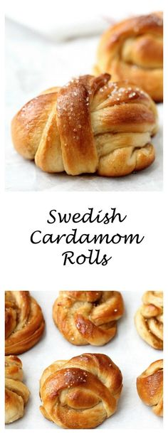 Kardemummabullar | Swedish Cardamom Rolls from Karen's Kitchen Stories