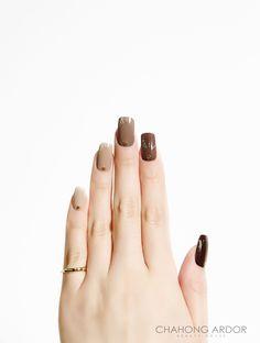Brown age #nailart #nail #beauty #chahongardor