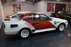 Toyota Celica TwinCam Turbo - Toyota Motorsport visit