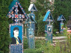 Happy Cemetery (Romania) by Soolik