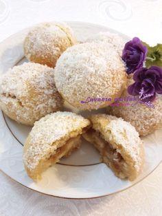 Elmalı Islak Kurabiye Yogurt, Food And Drink, Cookies, Eat, Desserts, Recipes, Bon Appetit, Biscuits, Deserts