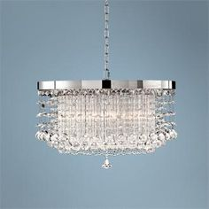 Every room is fancier with a chandelier!