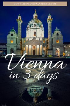 Here's a complete 3-day itinerary for Vienna, Austria