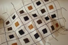 Shades of brown felted baby blanket Textile Products, Felt Baby, Make Time, Baby Blankets, Felting, Art Inspo, Vibrant, Textiles, Shades
