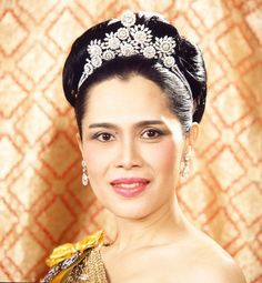 The beautiful Queen Sirikit of Thailand.