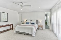 This 1919 home in Bicton has been completely transformed into a spectacular and modern home.  #homerenovation #renovation #dreambedroom #bedroominspiration #parentsretreat #balcony