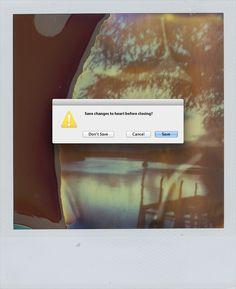 Graphic Designer Inserts Error Messages Into Human Experiences - DesignTAXI.com
