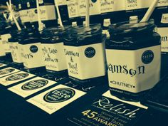 A selection of our Damson products at the Damson Day in Lyth Valley. #Damson #Relish