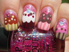 More cupcake nails