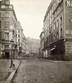 Marville : rue du Temple, de la rue Dupetit-Thouars - Paris 3e 1866