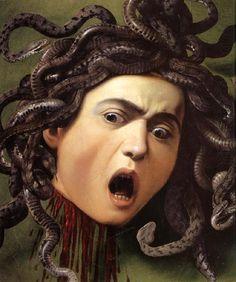 Medusa. Caravaggio.