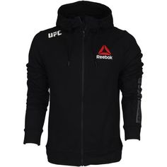 567f5f71f91 REEBOK UFC FIGHT NIGHT WALKOUT HOODIE Own the Official Reebok UFC Fight  Night Walkout Hoodie worn