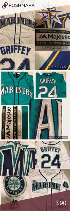 Seattle mariners jersey 90$ each  Stitched numbers and letters multiple sizes and styles available majestic Other